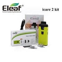 ICare 2 Starter kit 650 mAh Batería original Eleaf 15 W 2 ML Atomizador Eleaf Vape Pluma Hookah ajuste IC 1.3ohm Cabezas de Bobina