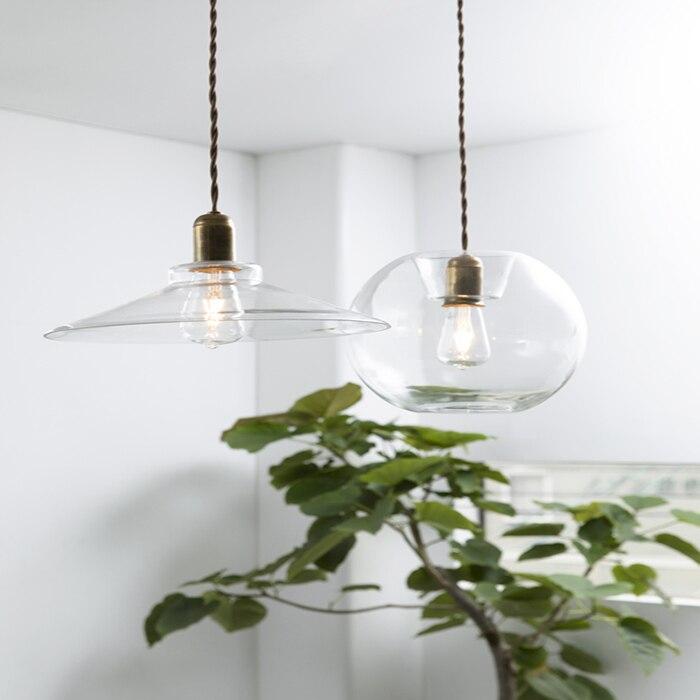 Современные светодио дный E27 подвесные светильники Стекло светильник Винтаж чердак подвесной светильник Стекло абажур повесить свет лампы