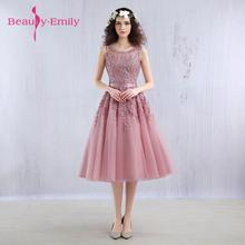 2019 Short Bridesmaid Dresses Embroidery Beaded Lace Wedding