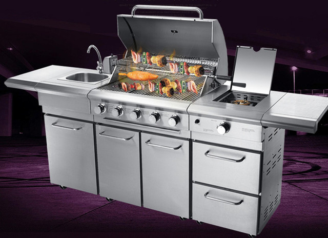 barbecue gaz luxe