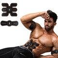 Bateria recarregável Corpo Ginásio Eletrônico Cintura Muscular Do Braço Exercitador Abdominal Muscular Máquina de Massagem Viberating Cinto Fino