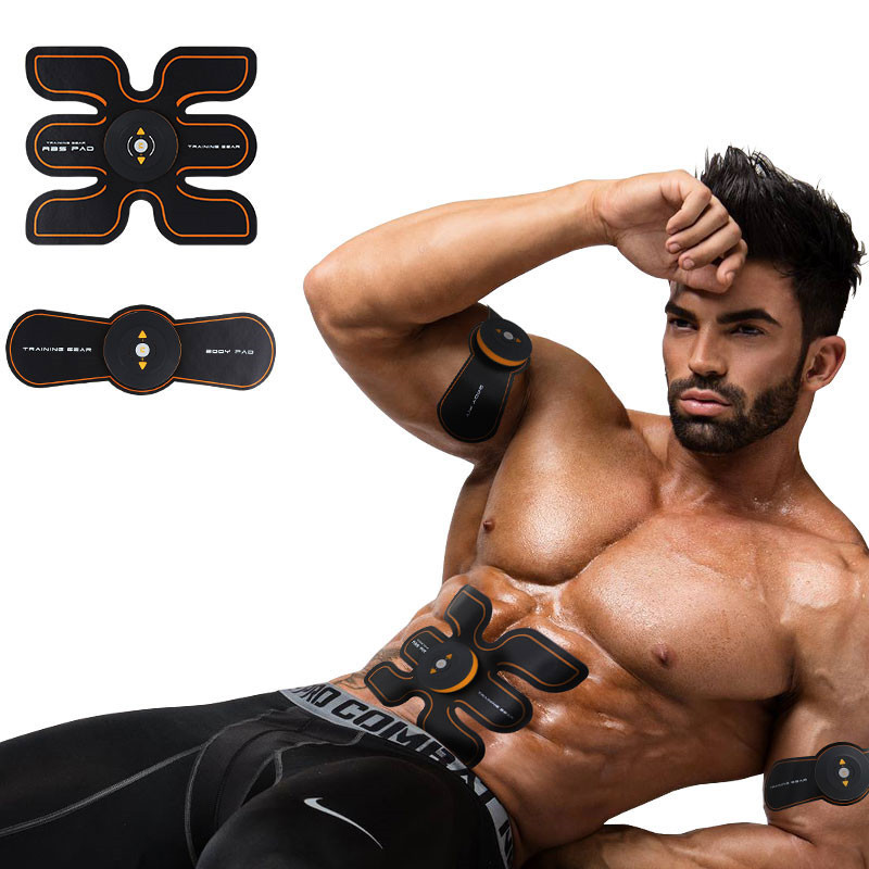 Rechargeable Battery Gym Electronic Body Muscle Arm Waist Abdominal Exerciser Muscle Massaging Machine Viberating Slim Belt herbal muscle