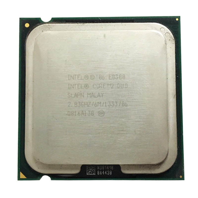 INTEL CORE 2 E8300 LAG 775 SOCKET 2.83GHz /65W /6M /FSB 1333 DESKTOP CPU DUAL CORE Processor