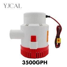 Submersible Electric Water Pump 3500GPH DC 12V 24V Bilge Pump For Seaplane Civil Ship Houseboat Boats все цены