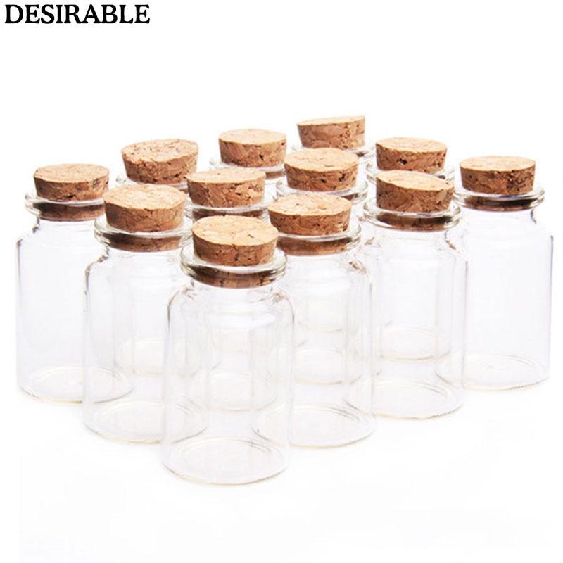 Gl Bottles With Cork Stopper