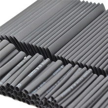127pc Black Heat Shrink Tube Assortment Wrap Electrical Insulation Cable Tubing Assortment Polyolefin