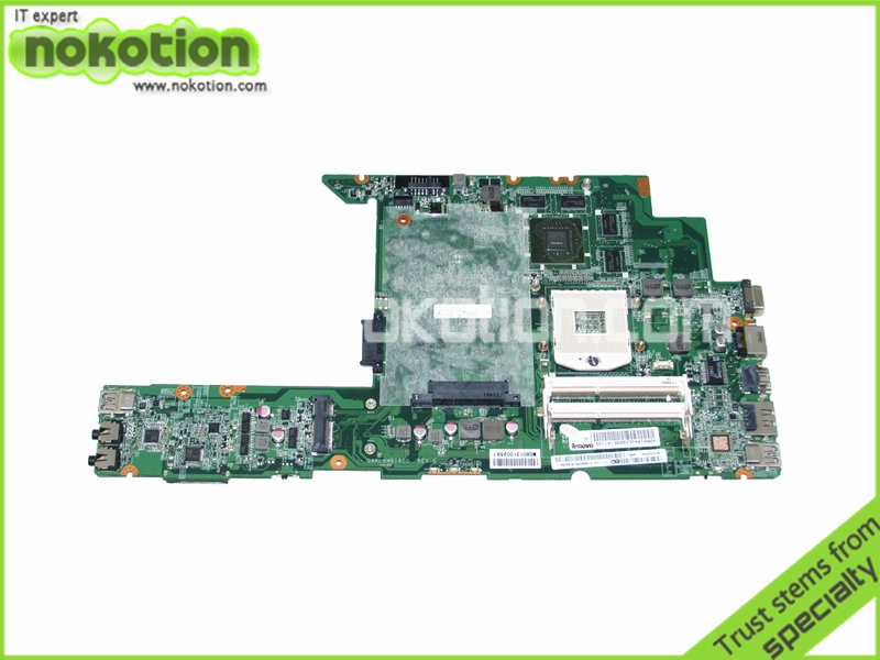 все цены на NOKOTION DAKL6MB16G0 11S110136 laptop motherboard for lenovo ideapad Z470A HM65 GT540M DDR3 Mainboard full tested онлайн