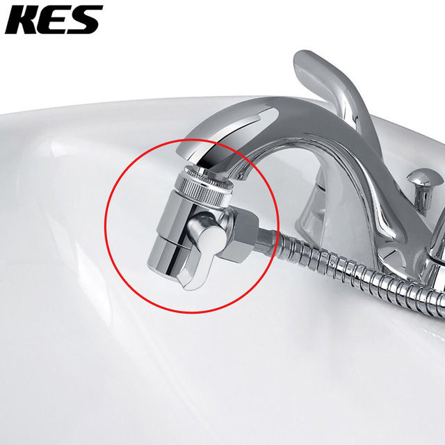 Kes Brass Diverter For Kitchen Or Bathroom Sink Faucet Replacement