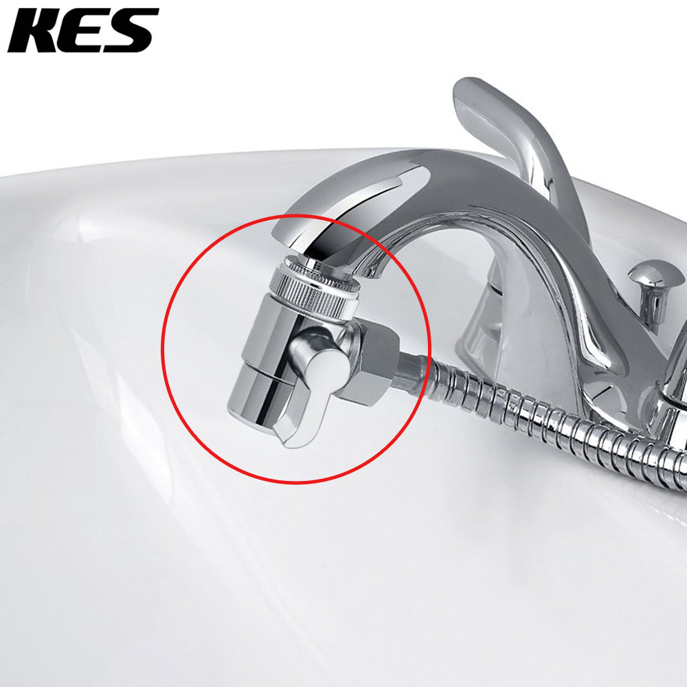 KES BRASS Diverter for Kitchen or Bathroom Sink Faucet Replacement Part M22 X M24, Polished Chrome, PV10