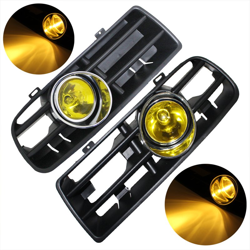 Pair 16 LED Driving Fog Light Front Grill With Wiring Harness Relay Switch For VW Golf mk4 jetta fog light wiring diagram wiring schematics diagram