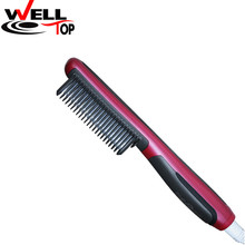 Hot Sale Hair Straightener Comb Electric Thermoregulator Fast Hair Straightening brush combs Escova Alisadora