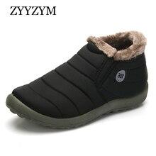 Keep Warm Cotton Shoes Classic Unisex