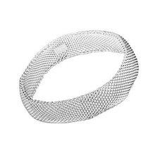 Envío Libre, 25 joyería de Plata, pequeña red cerrada pulseras, 925 Brazalete de Plata, Joyería Al Por Mayor SZ024