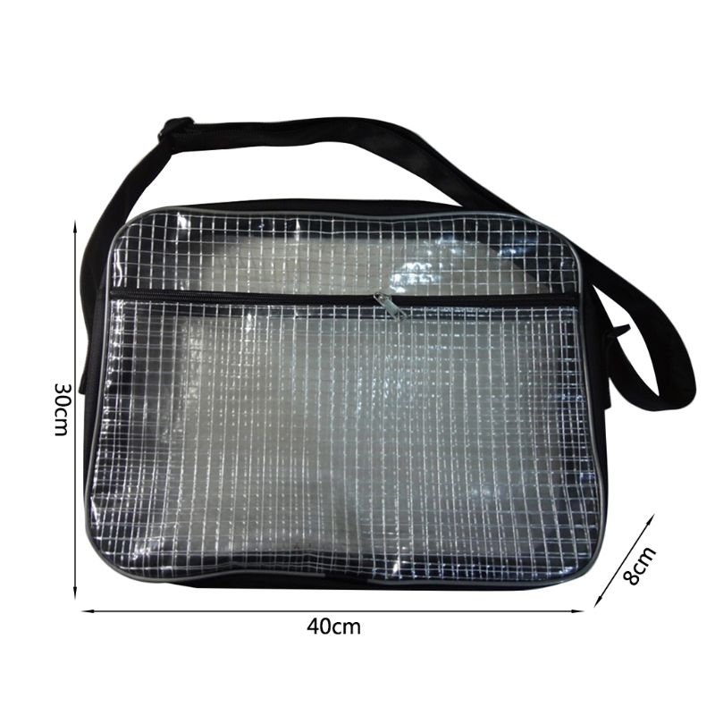 Engineer-Tool-Bag Computer-Tool Clear PVC for Working 40x8-X-30cm Pvc-Bag Anti-Static