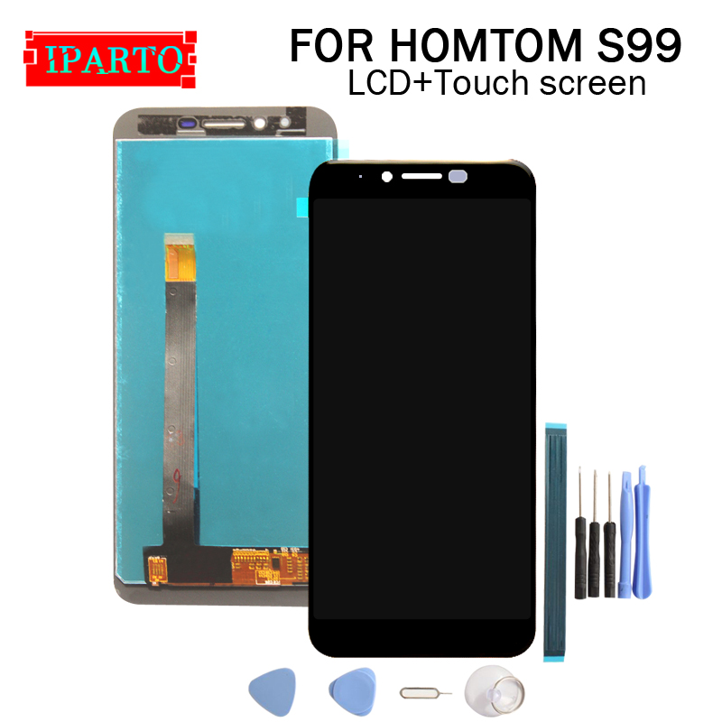 5.5 inch for HOMTOM S99 LCD Display+Touch Screen Digitizer Assembly 100% Original New LCD+Touch Digitizer for S99(China)