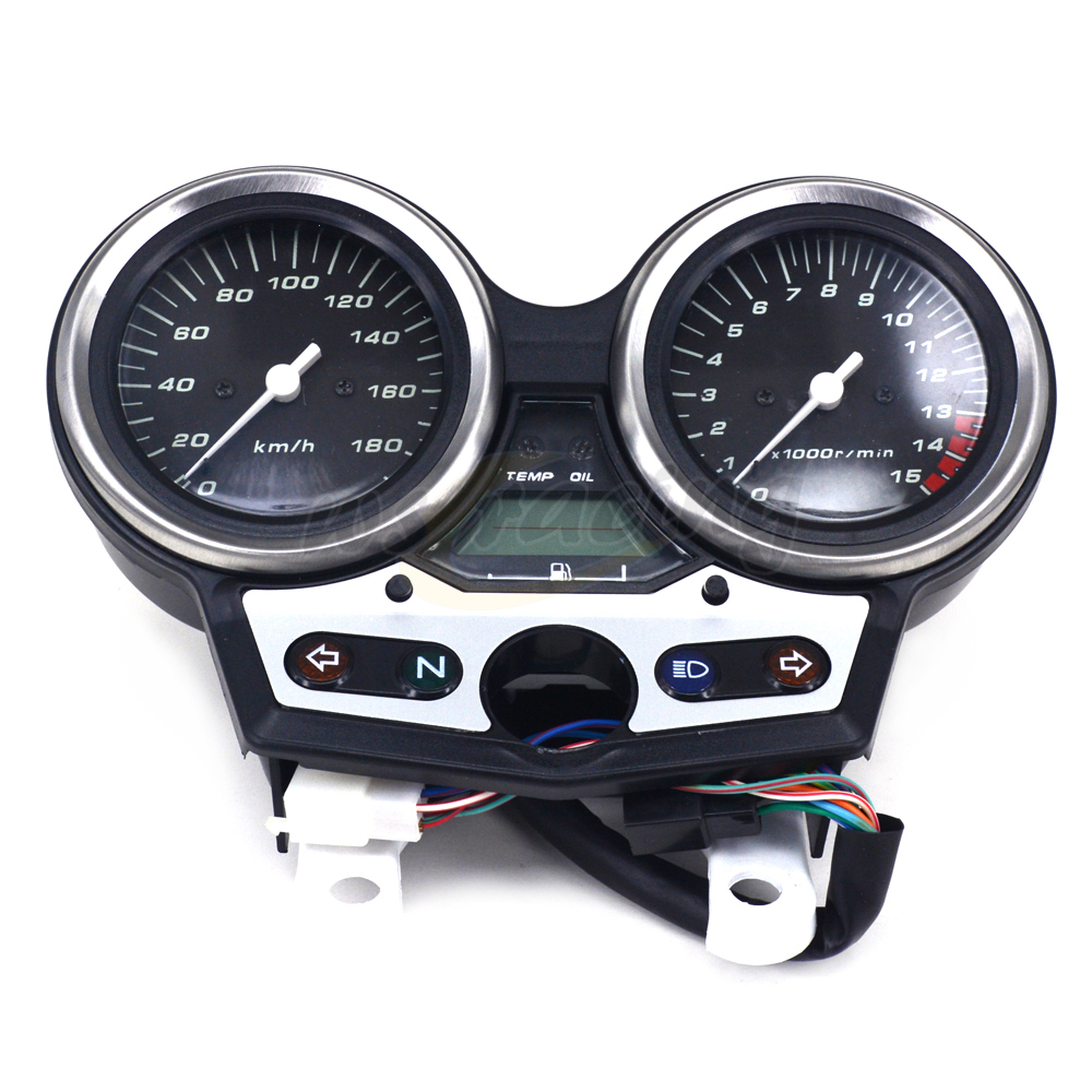 Motorcycle Tachometer Odometer Instrument Speedometer Gauge Cluster Meter For HONDA CB400 SF VTEC I 1999-2001 1999 2000 2001 claw setting men s watch women s watch sapphire crystal fine clock stainless steel bracelet luxury lovers gift royal crown box