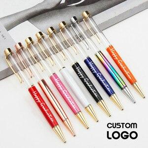 Image 3 - 10 adet/grup Kişiselleştirilmiş Kazınmış Tükenmez Kalem Yaratıcı DIY El Yapımı Tükenmez Kalemler Özel Logo Metal Boş Kalem Düğün Hediyeleri