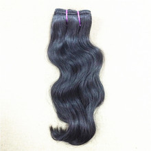 1 bundle Virgin Indian Natural Wavy Hair Sample 100% Indian temple hair Bouncy wavy natural color can be dye100g/bundle