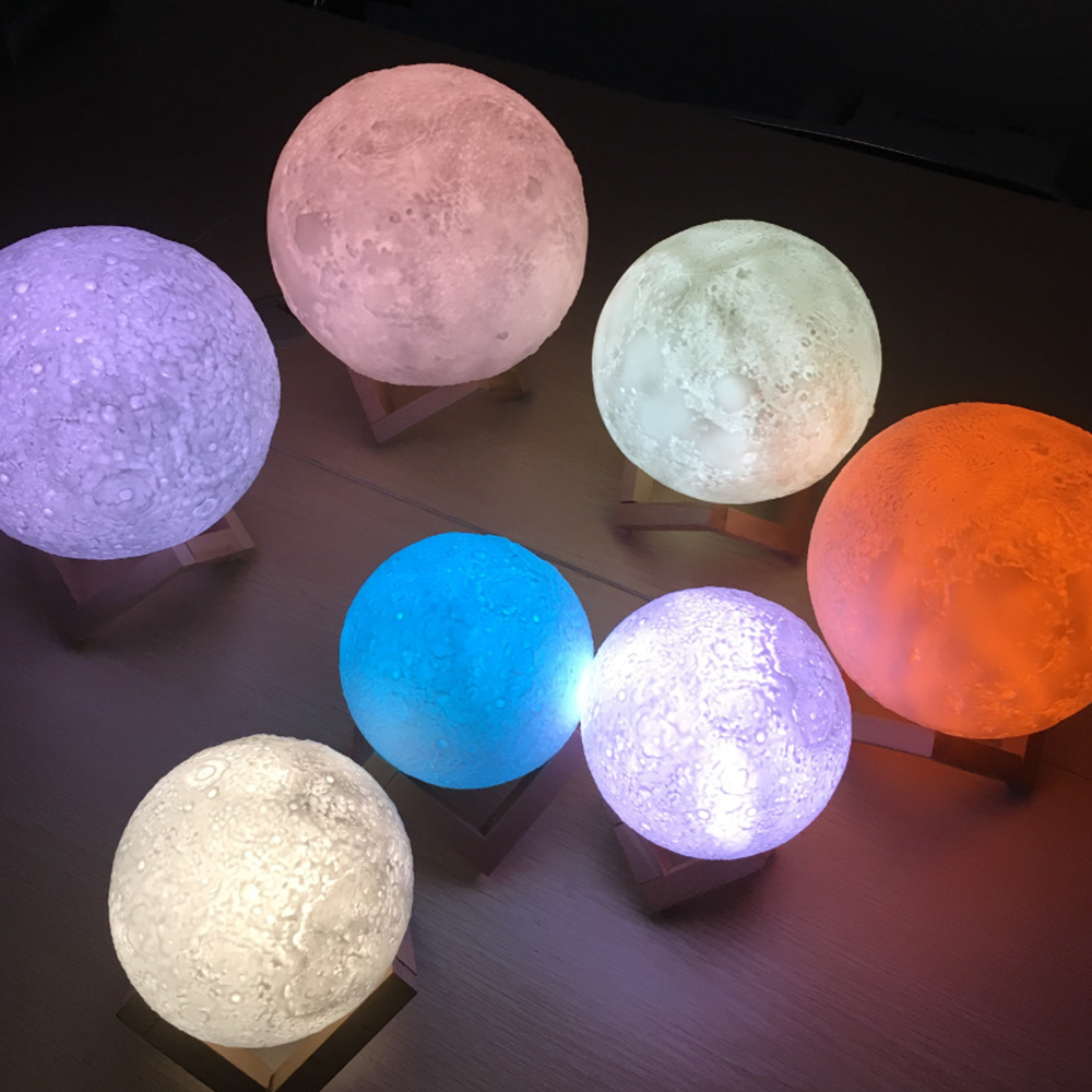 MIFXIN Touch Sensor Luminaria Moon-lamp 3d Night Light Moon Lamp USB Led Lights For Home Lamps Usb Led Lamp 7 Colors 2018 New nendoroid card captor sakura li syaoran 763 kinomoto sakura 400 pvc action figure collectible model toy doll