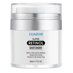 1pc Retinol Face Cream Hydrating Smooth Fine Lines Face Care Firming Skin Anti-Wrinkles Anti-Aging Retinol Cream Maquiagem