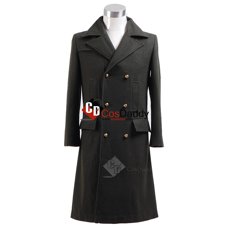 CosDaddy Doctor Who 11th cosplay costume coat الحادي عشر - ازياء كرنفال
