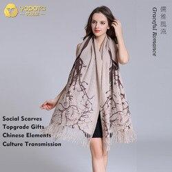 Yopota kasjmier luxe sjaals supersize sjaal merk nieuwe warm houden hoge end sjaals topgrade gift gratis verzending