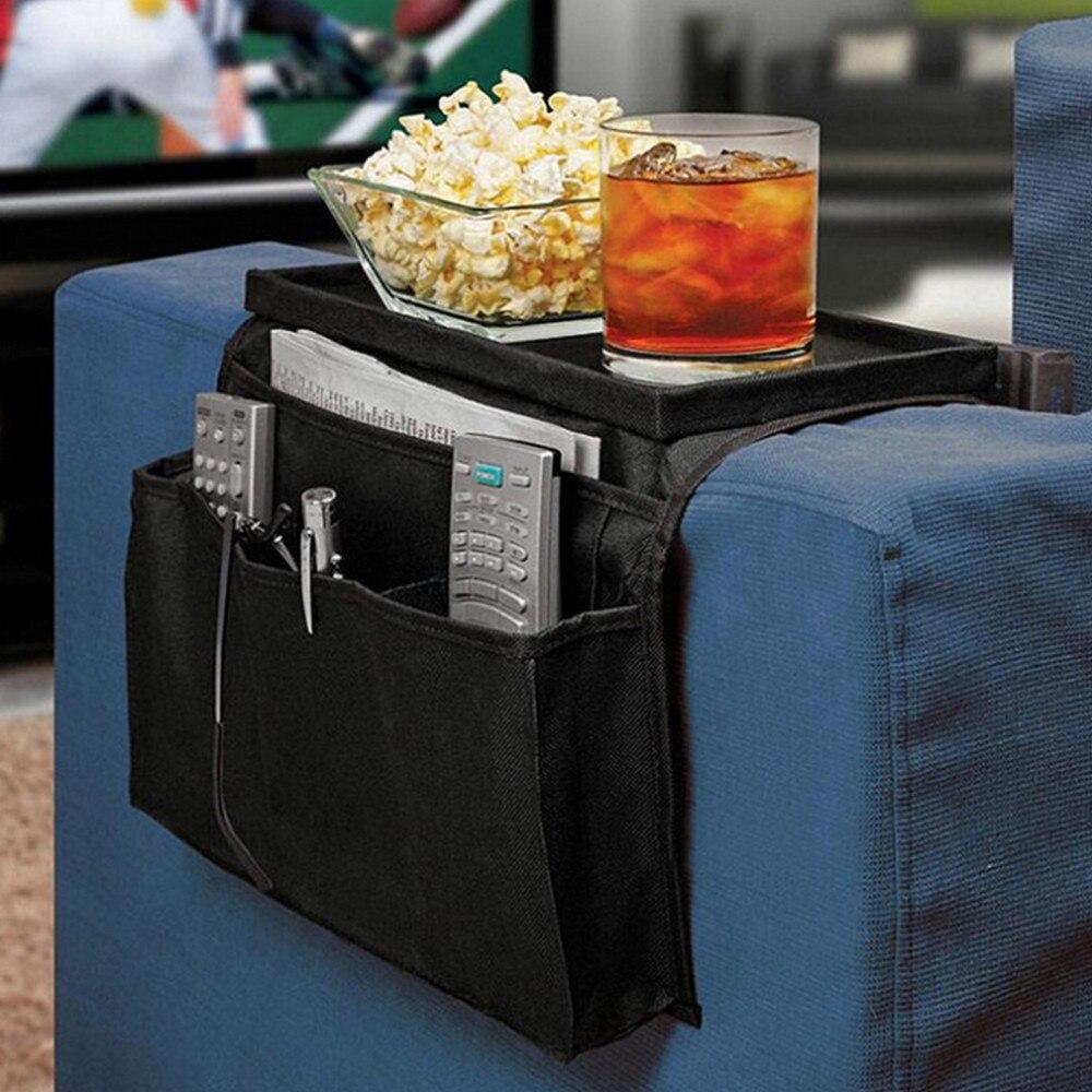 6 Pockets Sofa Handrail Couch Armrest Arm Rest Organizer Remote Control Holder Bag On TV Sofa corrimao Braco Resto Organizer