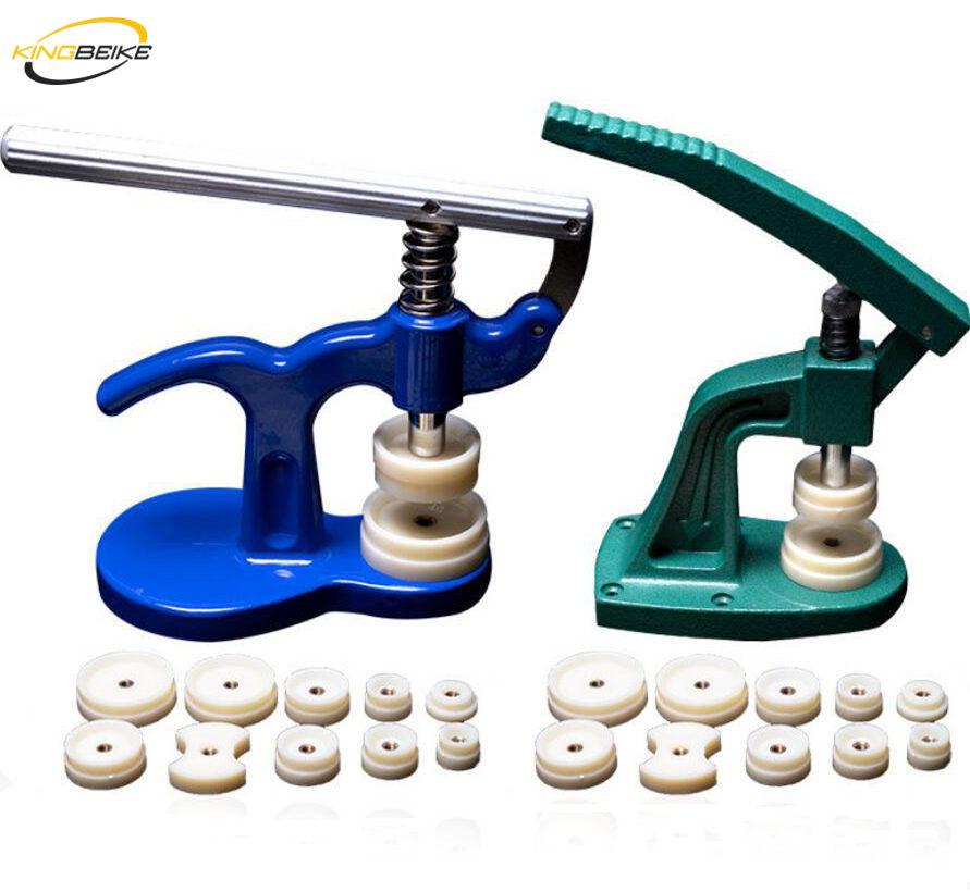 KINGBEIKE Professional Watch Back press Fitting Dies Repair Tool Kit корпус часов кристалл стекло пресс Инструменты Набор для часовщика