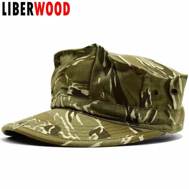 LIBERWOOD Tactical Army Desert Octagon Hats Men Combat Cap Hat Sport Ranger  cap hat Camouflage Corps 19046574f64