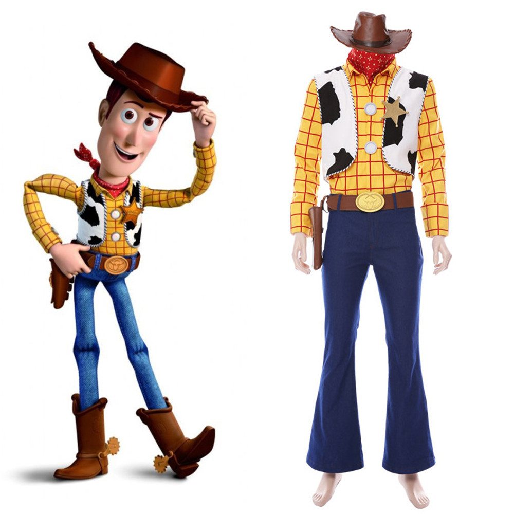 Toy Story 4 Halloween Costumes.Toys Are Discounted Toy Story Woody Costume Adult In Toy World