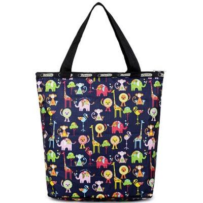 Portable Folding Shopping Bag Women Shoulder Crossbody Bags Lesport Fashion Bolsa Feminina Summer Beach Handbags Lady