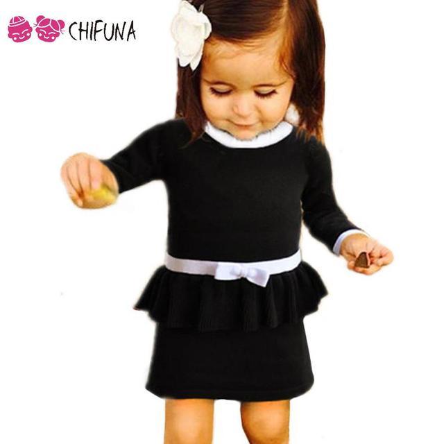 Новый Мода 2017 детская трикотажная одежда с длинными рукавами теплые элегантные милые Детские зимние штаны Платья для женщин для Обувь для девочек высокое качество