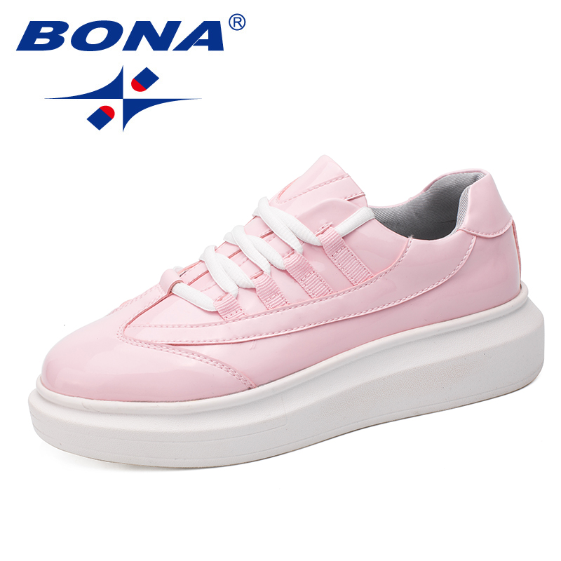 BONA New Classics Style Women Walkng Shoes Lace Up Lady Shoes Outdoor Jogging Sneakers Comfortable Women
