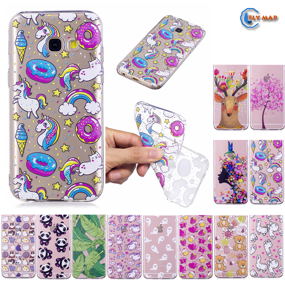 Fitted Case for <font><b>Samsung</b></font> <font><b>Galaxy</b></font> <font><b>A5</b></font> 2017 A520 A <font><b>520</b></font> Soft TPU Silicone Cover Phone Case A57 A520F SM-A520 SM-A520F SM-A520F/DS Capa image