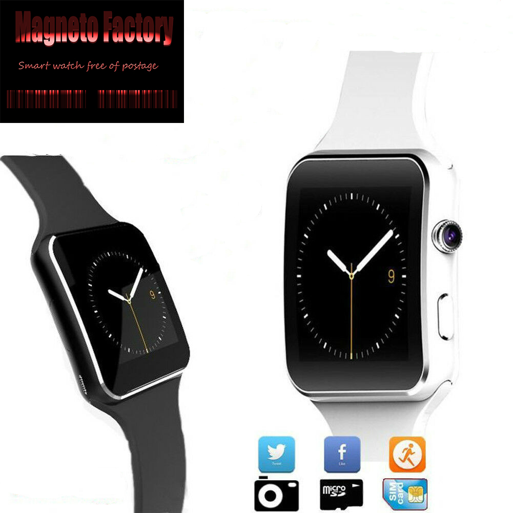 Bluetooth Waterproof Smart Watch Phone X6 Smartwatch Wristwatch For Android