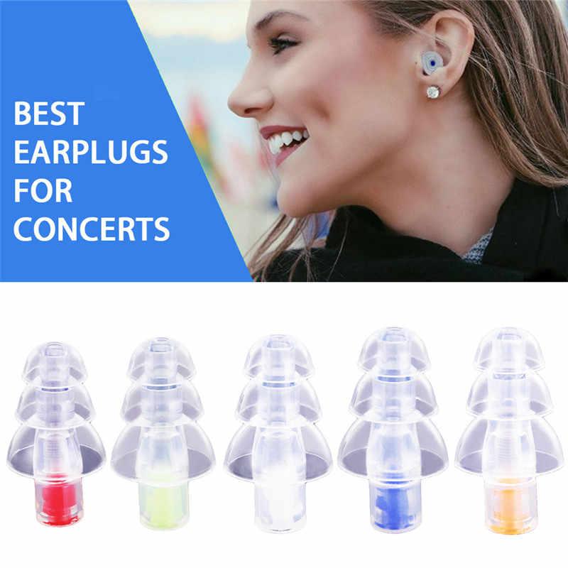 Fidelity силиконовый наушник музыкальный фильтр наушники с шумоподавлением шумоподавление Защита слуха вкладыши многоразовый уход за сном 27дБ