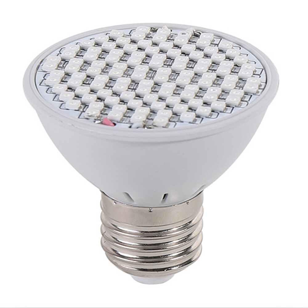E27 106LEDs 8W Grow Light Lamp Hydroponic Lighting With Clip Plants Lamps For Flower Hydroponics System Indoor Greenhouse