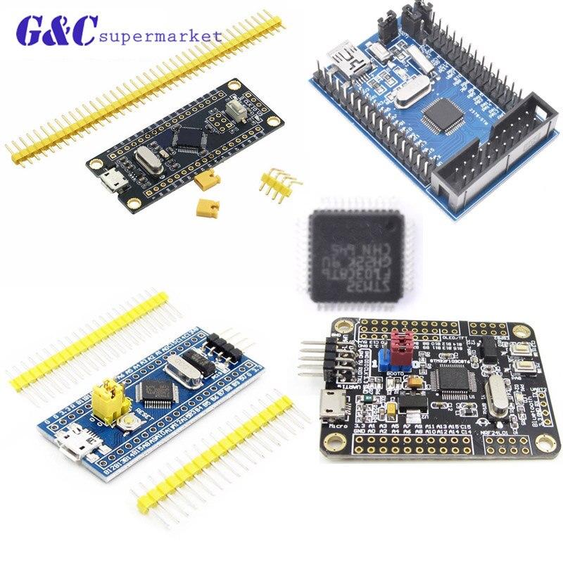 STM32F103C8T6 ARM STM32 Cortex-M3 Minimum System Development Board Module With Crystal For Arduino