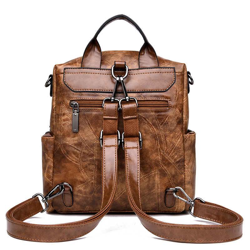 Women Backpacks Women's Leather Backpacks Female School Backpack Women Shoulder Bags For Teenage Girls Travel B