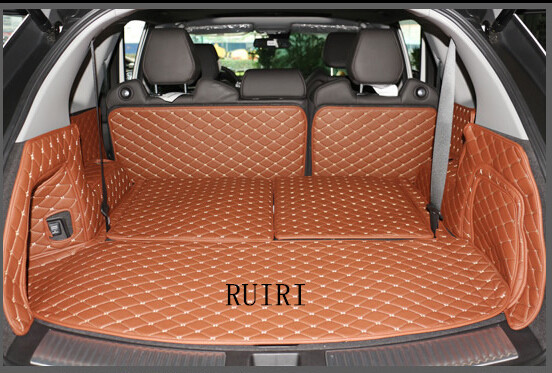 low priced eadf0 b8507 Good carpets! Special trunk mats for Acura MDX 7 seats 2017-2014 waterproof  boot