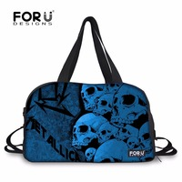 FORUDESIGNS Metallica And Justice For All Logo Printing Sport Gym Bags Outdoor Punk Rock Death Magnetic