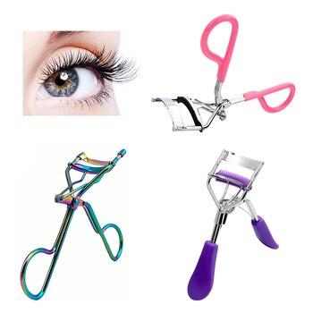 1Pcs Eyelash Curler for Girls Lash Tweezers Curler Nature Curl Style Eyelash Extension Tools Makeup Curling Twisting Eye Lashes