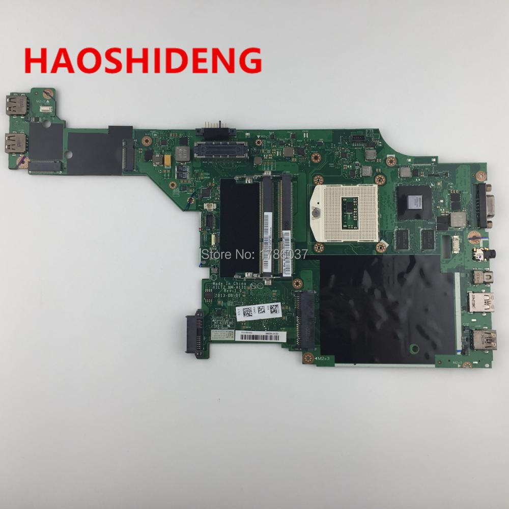 NM A131 For Lenovo T440P series Laptop motherboard PGA 947 All functions fully Tested