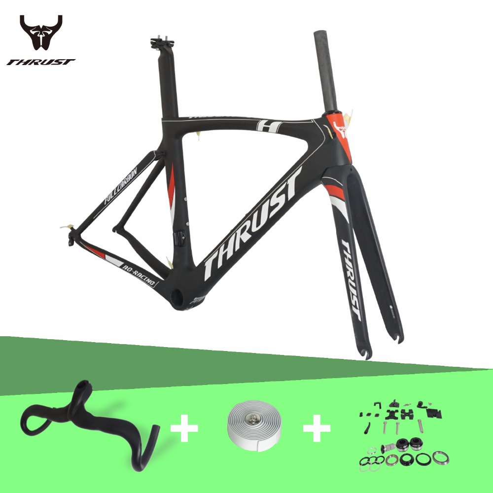 Carbon Road Bicycle Frames 2017 Di2 Matte Gloss UD Road Bicycles Frameset V Brake Carbon Road Bike Frame T800 2018 top t800 full carbon road frame ud glossy road bike frames carbon di2 climbing fork seat post clamp bb86 glossy xs s m l