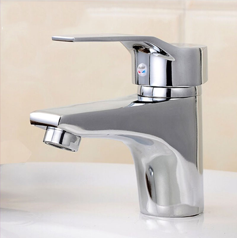 Kitchen Faucet Bathroom Basin Sink Faucet Single Handle Kitchen Tap Faucet Stainless steel single cold Drawing Finished#0