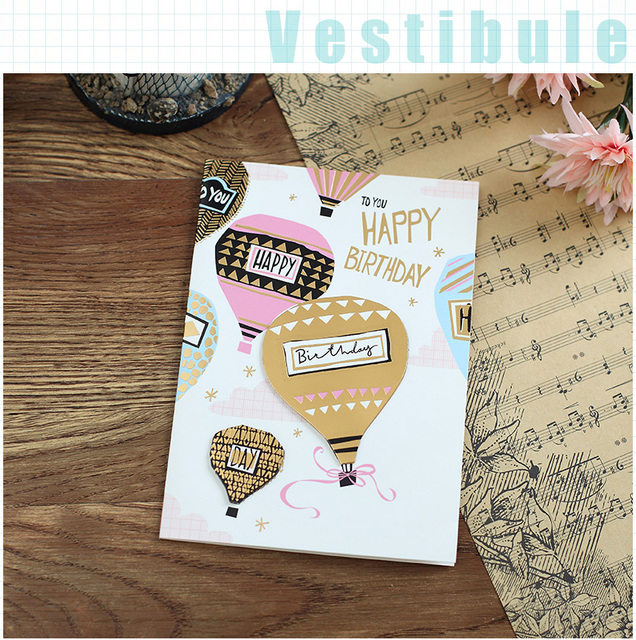 Chinese Imports Wholesale 3D Handmade Best Birthday Gift To Your Girl Card Greetings