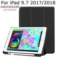 Smart Case For IPad 9 7 2017 2018 New Tablet IBuyiWin Magnetic Folding PU Leather Funda