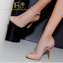 5c870f041b9d Blush Stiletto Heels Almond Toe T Strap Pumps Spring Autumn Black Friday  Attractive Incomparable Generous Fashion