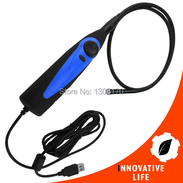 Industrial USB 1.1 or 2.0 Interface Video Inspection Borescope Endoscope 830mm Flexible Tube with 7mm Waterproof Camera Head diameter 17mm camera head with flexible tube for av handheld endoscope