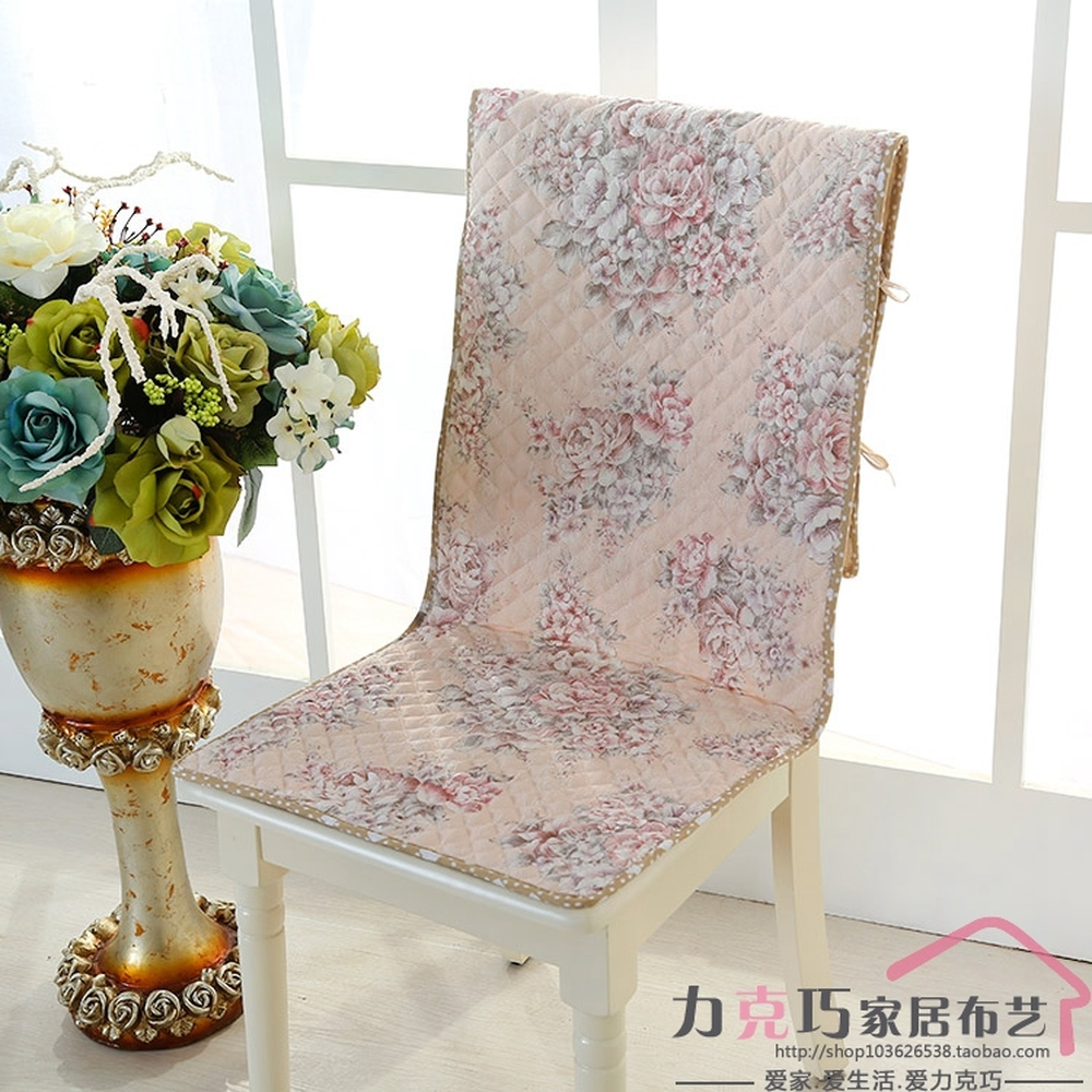 Top grade quilted chair cushion thick integration chair covers Office Computer Restaurant Home Chair Pads lace back cushion